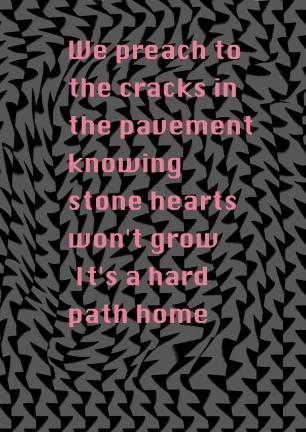 we preach to the cracks